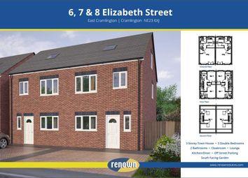 Thumbnail 3 bed semi-detached house for sale in Elizabeth Street, East Cramlington, Cramlington