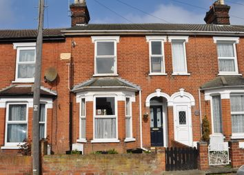 Thumbnail 2 bed terraced house for sale in Kitcheners Road, Ipswich
