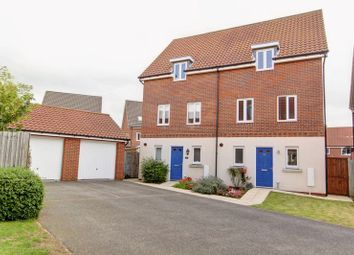 Thumbnail 3 bed semi-detached house for sale in Jasmine Walk, Cringleford, Norwich