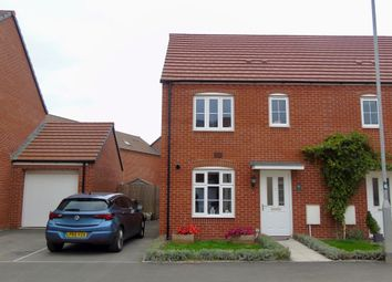 Thumbnail 3 bed semi-detached house for sale in Lysaght Gardens, Newport