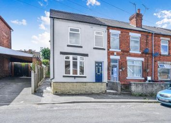 Thumbnail 3 bed end terrace house for sale in Peel Street, South Normanton, Alfreton, Derbyshire