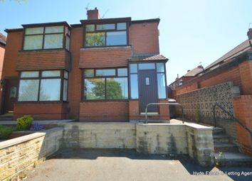 Thumbnail 3 bed semi-detached house to rent in Buxted Road, Oldham