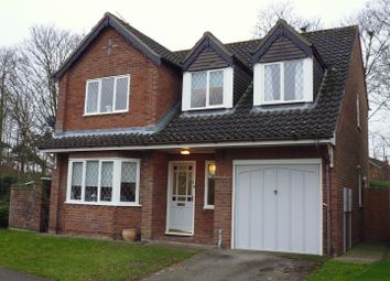 Thumbnail 3 bed detached house for sale in St. Aubins Crescent, Heighington, Lincoln
