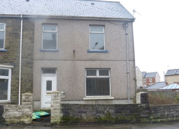 Thumbnail 3 bed end terrace house for sale in Duffryn Road, Caerau, Maesteg