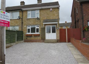 Thumbnail 2 bed semi-detached house for sale in Copley Crescent, Scawsby, Doncaster