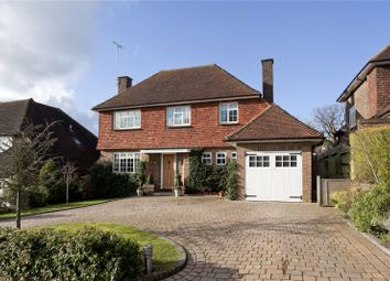 Thumbnail 4 bed detached house for sale in Warren Road, Bushey Heath, Hertfordshire