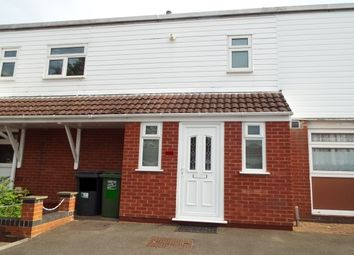 Thumbnail 4 bed terraced house to rent in Flyford Close, Redditch