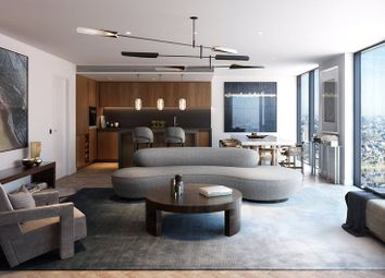 Thumbnail 2 bed flat for sale in Landmark Pinnacle, Canary Wharf