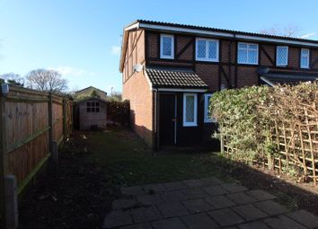 Thumbnail 1 bed end terrace house to rent in Heronfield, Englefield Green, Egham