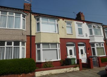 Thumbnail 3 bedroom property to rent in Parkstone Road, Tranmere, Birkenhead