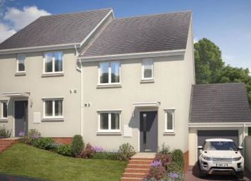 Thumbnail 3 bed semi-detached house to rent in Chariot Drive, Kingsteignton, Newton Abbot