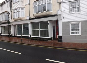 Thumbnail Studio to rent in High Street, Bexhill-On-Sea, East Sussex
