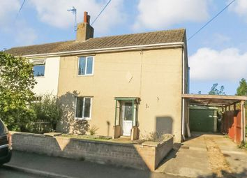 Thumbnail 3 bed semi-detached house for sale in Main Street, Ailsworth, Peterborough