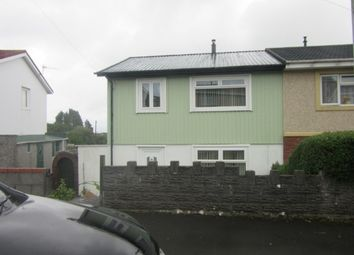 Thumbnail 3 bed terraced house to rent in Heol Trefor, Penlan, Swansea.