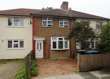 Thumbnail 3 bed terraced house to rent in Leighton Road, Enfield