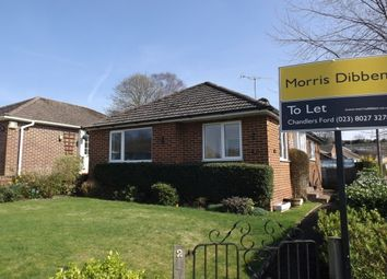 Thumbnail 2 bed bungalow to rent in Craven Road, Chandler's Ford, Eastleigh