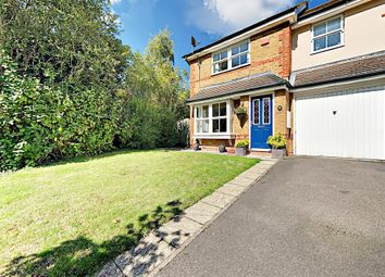 Thumbnail 3 bed semi-detached house for sale in Brandon Road, Church Crookham, Fleet