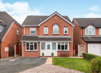 Thumbnail 4 bed detached house for sale in The Grove, Burntwood, Staffordshire