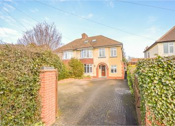 Thumbnail 4 bed semi-detached house for sale in Wootton Road, Bedford