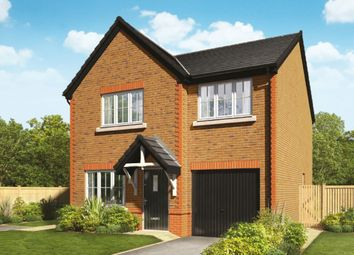 Thumbnail 4 bed detached house for sale in Orchard Fields Newcastle Road, Shavington, Crewe