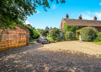 Thumbnail 3 bed semi-detached house for sale in Long Lane, Southrepps, Norwich