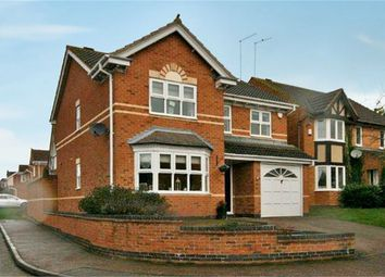 Thumbnail 4 bed detached house for sale in Lordswood Close, Wootton, Northampton