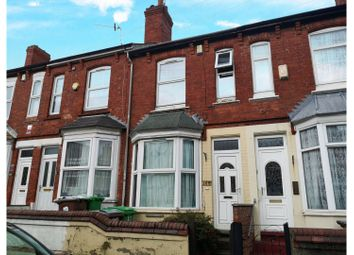 2 bed terraced house for sale in Burford Road, Nottingham NG7