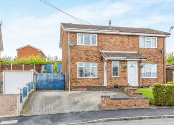 Thumbnail 2 bed semi-detached house for sale in Pensford Grove, Hanley, Stoke-On-Trent