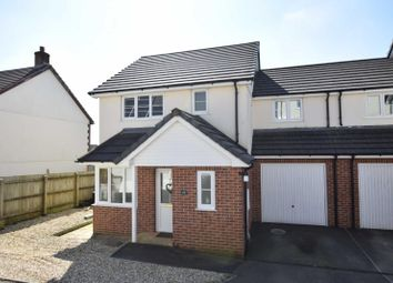 Thumbnail 3 bed detached house to rent in Littlebridge Meadow, Bridgerule, Holsworthy