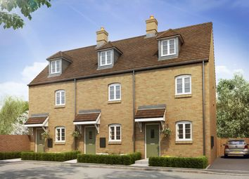"Thumbnail 3 bed town house for sale in ""The Plumpton"" at Heathencote, Towcester"