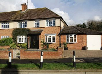 Thumbnail 4 bed semi-detached house for sale in Reynards Way, Bricket Wood, St. Albans, Hertfordshire