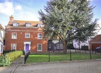 Thumbnail 6 bedroom detached house for sale in Post Office Road, Broomfield, Chelmsford