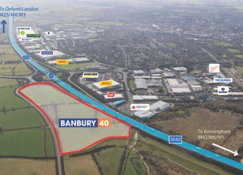 Thumbnail Industrial to let in Adjacent To M40, Banbury