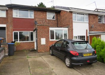 Thumbnail 3 bed terraced house for sale in Croft Close, Barwell, Leicester