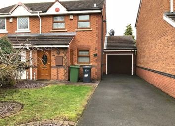 Thumbnail 2 bed semi-detached house to rent in Coltsfoot Close, Wednesfield, Wolverhampton