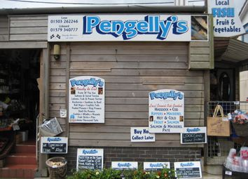 Thumbnail Retail premises for sale in The Quay, East Looe