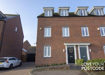 Thumbnail 5 bedroom town house for sale in Kyngston Road, Churchfields, West Bromwich