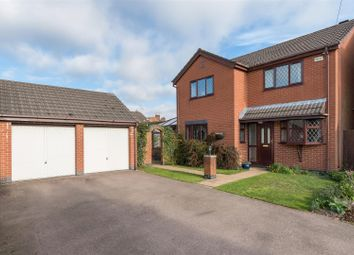 Thumbnail 4 bed detached house for sale in Newbold Court, Newbold Road, Barlestone, Nuneaton