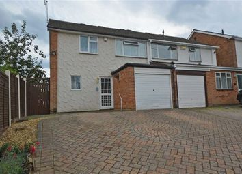 Thumbnail 3 bed semi-detached house for sale in Whitley Close, Leicester
