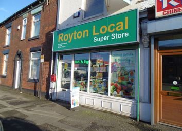 Thumbnail Retail premises to let in Oldham Road, Royton, Oldham