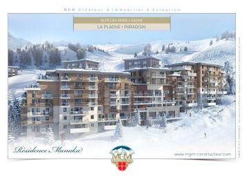 Thumbnail Duplex for sale in La Plagne, French Alps, France