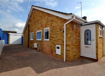 Thumbnail 2 bed bungalow to rent in Shepherd Close, Northampton