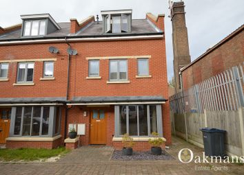 Thumbnail 3 bedroom end terrace house for sale in Shorters Avenue, Birmingham, West Midlands.