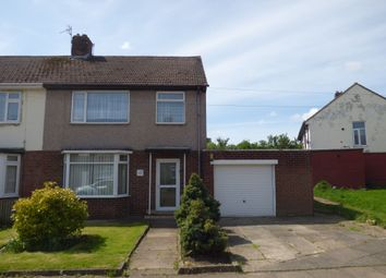 Thumbnail 3 bed semi-detached house for sale in Rothwell Crescent, Stockton-On-Tees
