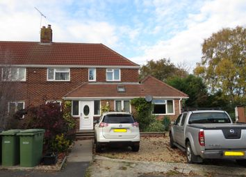 Thumbnail 3 bed semi-detached house for sale in Ratcliffe Road, Hedge End, Southampton