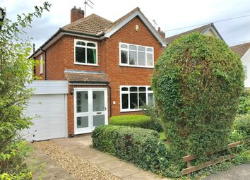Thumbnail 3 bed detached house for sale in Court Close, Kirby Muxloe, Leicester