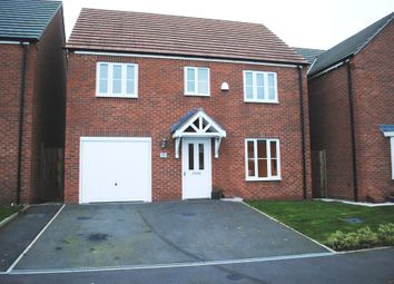 Thumbnail 4 bed detached house to rent in Chancel Drive, Market Drayton