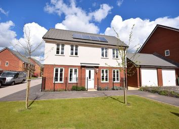 Thumbnail 3 bed detached house for sale in Mulligan Drive, Rydons, Exeter