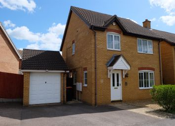 Thumbnail 3 bedroom detached house to rent in Thor Drive, Bedford