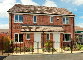 "Thumbnail 2 bed semi-detached house for sale in ""The Alnwick"" at Hewell Road, Redditch"